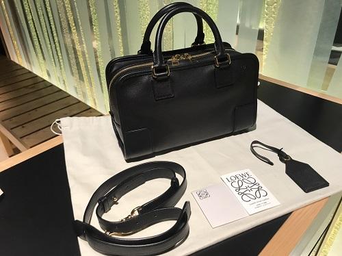 LOEWEロエベ2WAYアマソナレザーバッグ未使用高額買取り渋谷