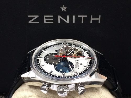 ゼニス ZENITH エルプリメロ クロノマスター 03.2040.4061 SS×革 買取 銀座