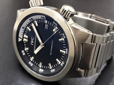 IWC インターナショナルウォッチカンパニー アクアタイマー IW354805 腕時計 高価買取 宅配買取
