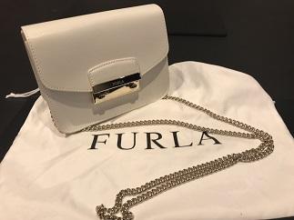 FURLA フルラ メトロポリス ブランドバッグ買取 福岡 天神