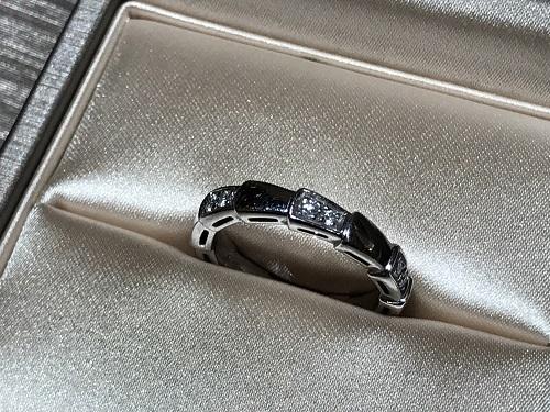 ブルガリ(BVLGARI) セルペンティ リング 指輪 ジュエリー ダイヤ 宝石