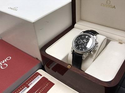 OMEGA オメガ デヴィル コーアクシャル Ref.4541.50 腕時計 美品 高価買取 七条店