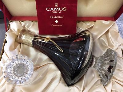 カミュ トラディション バカラ クリスタル (CAMUS TRADITION BaccaratCrystal) お酒買取 三宮 元町 神戸