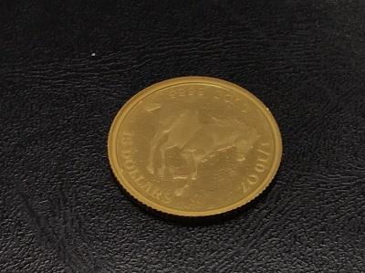 K24 純金 ツバルホース金貨 1/10OZ 地金 高価買取 七条店