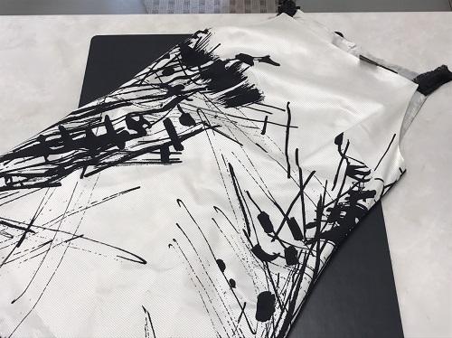 マックスマーラ(Max Mara) ワンピース 白×黒 #40 北山 買取