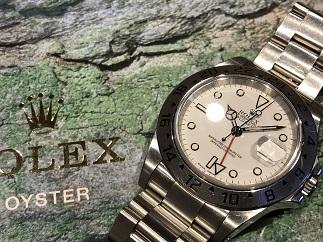 ROLEX ロレックス エクスプローラー2 Ref.16570 時計買取 福岡 天神 大名 赤坂 薬院 博多
