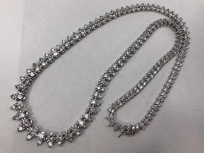 ダイヤモンドネックレス 10.0ct PT900 ダイヤモンド買取 神戸 三宮 元町