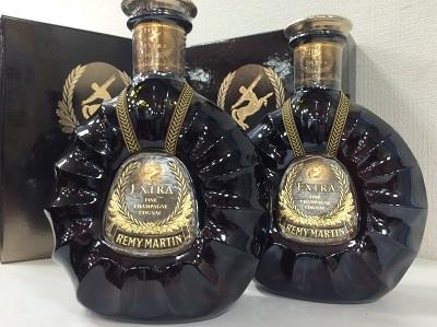 レミーマルタン エクストラ グリーンボトル 2本 (REMY MARTIN EXTRA) お酒買取 神戸 三宮 元町