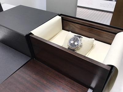 JAQUET DROZ ジャケドロー エルプラドGMT 腕時計 美品 高価買取 七条店