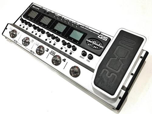 ZOOM ズーム G5 Guitar Effects & Amp Simulator Pedal エフェクター買取
