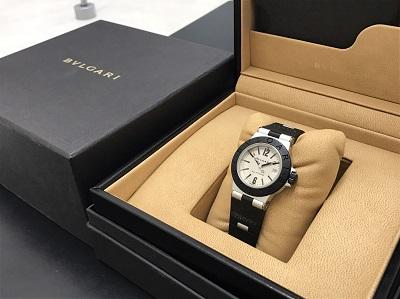 BVLGARI ブルガリ アルミニウム AL29TA 腕時計 高価買取 宅配買取
