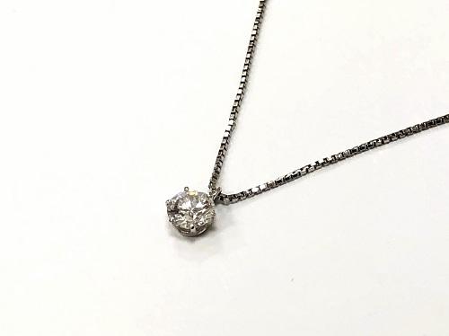 ダイヤモンドペンダント 0.3カラットオーバー プラチナ ノンブランド 宝石買取 京都大宮