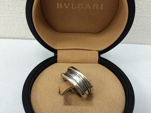 ブルガリ(BVLGARI) B-ZERO1 リング 750WG ホワイトゴールド ジュエリー MARUKA 京都北山店 ブルガリ買取