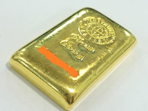 純金 インゴット 200グラム 国際取引 9999 金塊 資産 K24 貴金属 MARUKA 京都北山店 金インゴット買取