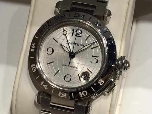 カルティエ Cartier パシャCメリディアン W31029M7 2377 SS 買取 銀座 時計