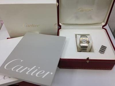 カルティエ(Cartier) サントスガルベ SM W20012C4 SS×YG カルティエ買取 神戸 三宮 元町