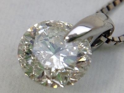 ダイヤモンド ペンダント 1.13ct プラチナ ダイヤモンド買取 神戸 三宮 元町