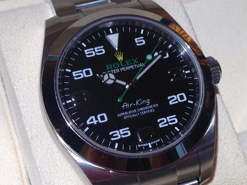 ロレックス ROLEX エアキング 116900 ランダム SS 時計買取 渋谷