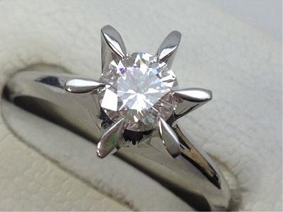 ダイヤモンド リング 0.523ct ダイヤモンド買取 PT900 ダイヤモンド 買取 神戸 三宮 元町
