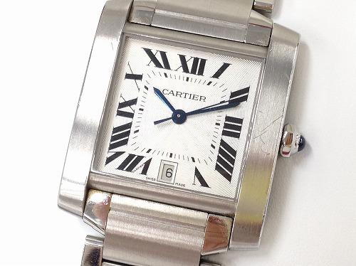 カルティエ(Cartier)タンクフランセーズLM買取 時計買取 カルティエ買取 MARUKA心斎橋店
