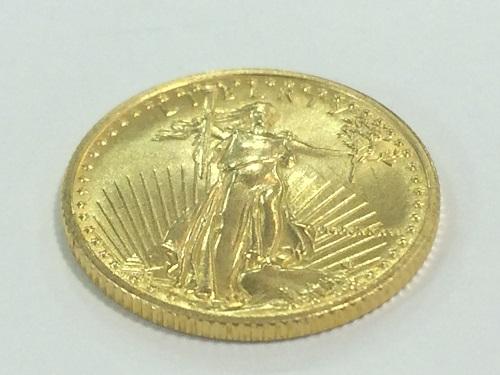 イーグル金貨 22金 資産 貴金属 アメリカ製造 1/10オンス 3.3グラム MARUKA 京都北山店 コイン買取