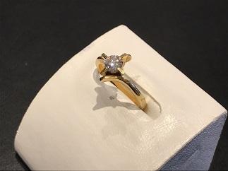 ダイヤモンドリング K18 0.25ct ジュエリー 宝石買取 質屋 福岡天神 大名 赤坂 薬院