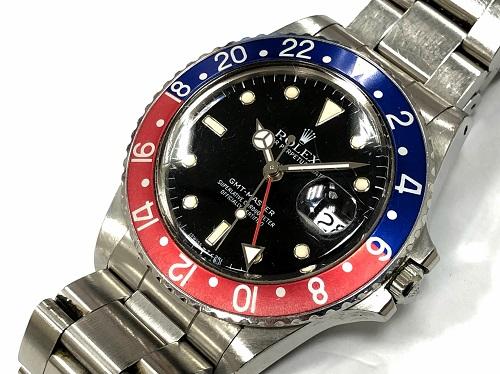 ロレックス(ROLEX) GMTマスター 16750 SS R番 本体のみ 時計買取 大宮店