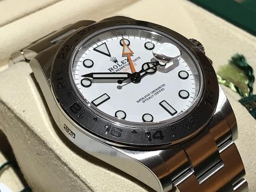 ロレックス(ROLEX) エクスプローラー2 腕時計 メンズ ウォッチ ブランド 216570