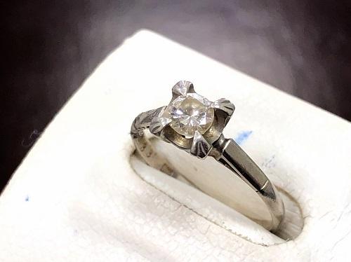 ダイヤモンドリング プラチナ PM 0.33カラット 京都大宮店 ダイヤモンド買取