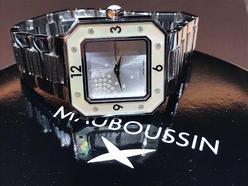 モーブッサン(MAUBOUSSIN) 時計 腕時計 ブランド ウォッチ