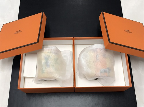 エルメス(HERMES) マグカップ2個 食器 宅配買取