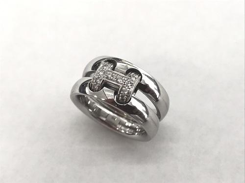 エルメス(HERMES)オランプリング ホワイトゴールド ダイヤモンド ブランドジュエリー 京都大宮店