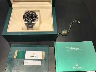 ROLEX ロレックス サブマリーナ Ref.114060 時計買取 福岡 天神 大名 博多 赤坂 薬院