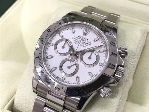 ロレックス(ROLEX) コスモグラフデイトナ 116520 白文字盤 時計 中古 京都大宮店