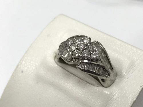 プラチナリング ダイヤモンド 1.00カラット Pt900 宝石買取 京都四条大宮店