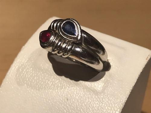 指輪 リング 宝石 ルビー サファイア プラチナ ジュエリー