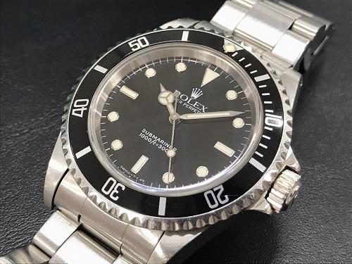 ロレックス(ROLEX) サブマリーナ 14060 SS W番 時計高価買取 京都大宮店