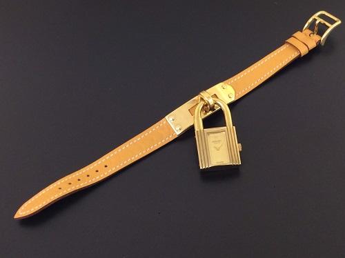 エルメス(HERMES) ケリーウォッチ カデナ 腕時計 レザーベルト MARUKA 京都北山店 エルメス売るならマルカで!