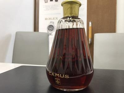 CAMUS カミュ カラフェ ブランデー バカラ お酒 高価買取 出張買取