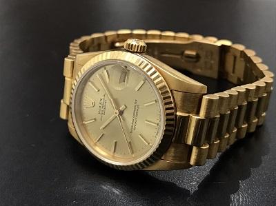 ROLEX ロレックス デイトジャスト ボーイズ Ref.68278 金無垢 750 腕時計 高価買取 七条店