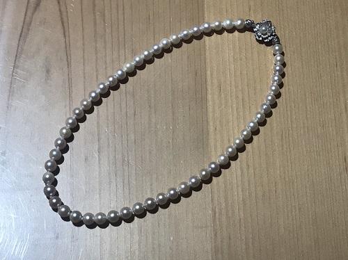 パールネックレス SV 宝石 出張買取