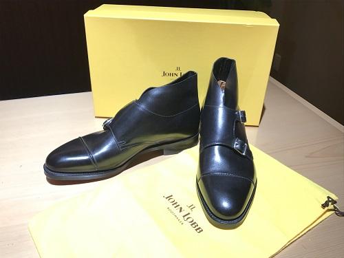 ジョンロブ 高級紳士靴 ウィリアム2ブーツ レザー シューズ買取 宅配