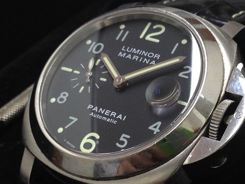 パネライ(PANERAI)  PAM00146ルミノールマリーナ 時計 高価買取 マルカ渋谷店