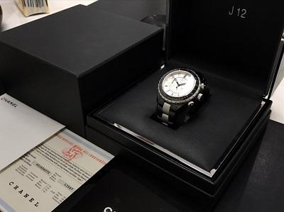 CHANEL シャネル J12 スーパーレッジェーラ H1624 腕時計 高価買取 七条店