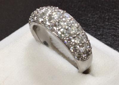 ダイヤモンド リング Pt900
