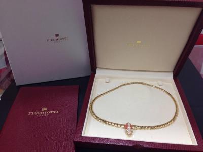 PICCHIOTTI ピキョッティ ペンダント ダイヤモンド サンゴ 0.89ct K18 750 ジュエリーデザイナー ジュエリー