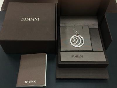 DAMIANI ダミアーニ ダミアニッシマ ペンダント ダイヤ 750WG 26.4g ブランドジュエリー 中古