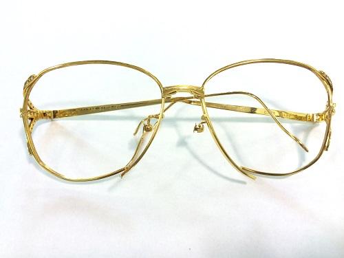 金製品 眼鏡 フレーム 18金 750 K18 貴金属 25.3グラム メガネ MARUKA 京都北山店 金高価買取