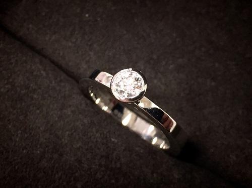グッチ(GUCCI)ダイヤモンドリング プラチナ Pt900 ブランドジュエリー 京都大宮店