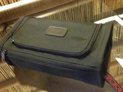 TUMI トゥミ セカンドバッグ ナイロン 黒 未使用 メンズ
